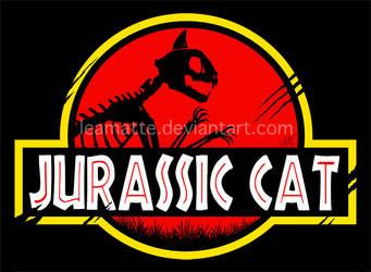 Jurassic Cat by leamatte