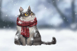 Feel the snow by leamatte