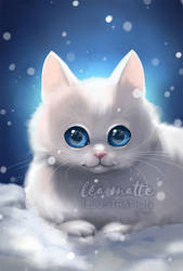 Snow furry by leamatte