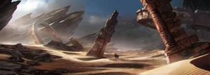 Desert by LyssonAn