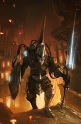 WarriorSteampunk by LyssonAn