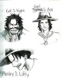 Gol D. Ace by Raynehawk