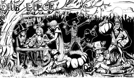 One Piece Halloween by Raynehawk