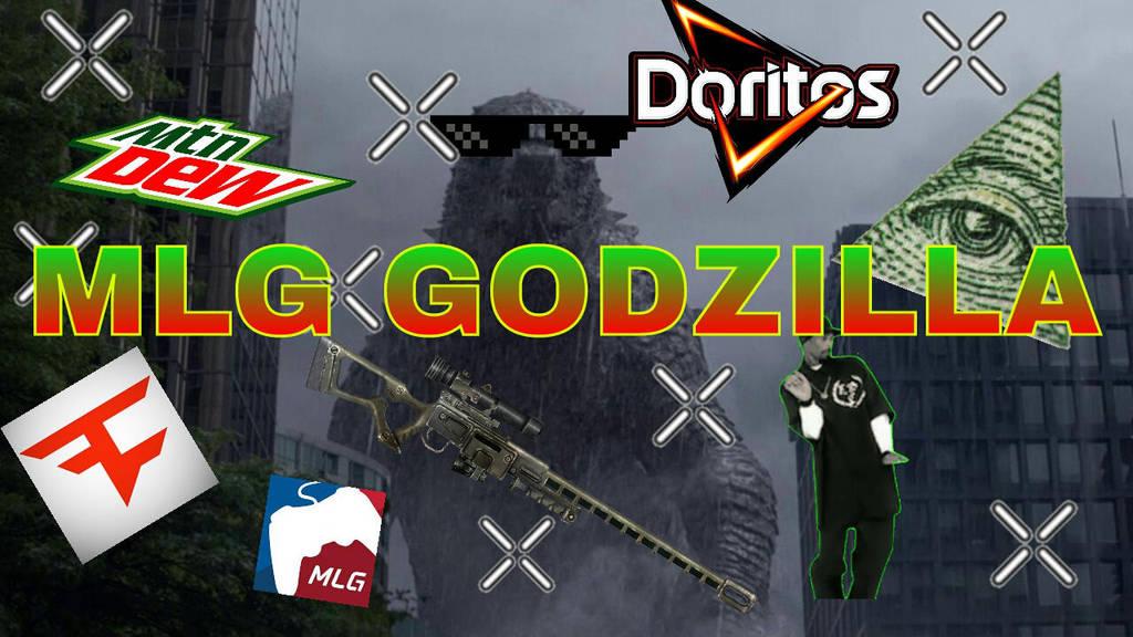 Image result for mlg godzilla