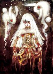 Bunny Ghost by fresh4u