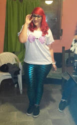 Ariel Hipster by Luaaa
