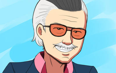 Stan Lee - Excelsior by chazzpineda