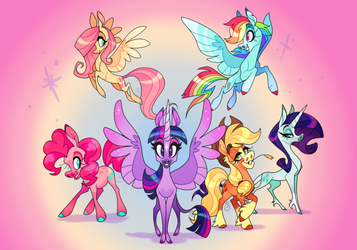 All together, now! by JaneGumball