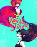 ADVENTURE TIME by Traptastic
