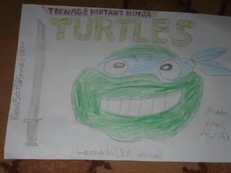 Classic Leonardo from Ninja Turtles by Wael-sa