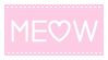 Pastel Pink Meow - Stamp by candlelit-deco