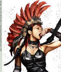 Koda Kumi Vector DDD Cover by Kassworkshop