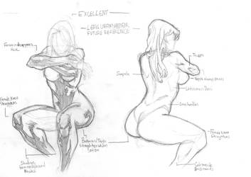 Female Sitting Pose by Atlas0