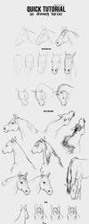 Drawing Horses Tutorial - Part 2 by Smirtouille