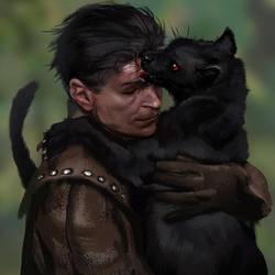 Mordi And Kitten by Smirtouille