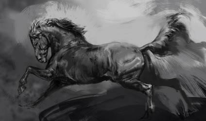 Horse by Smirtouille