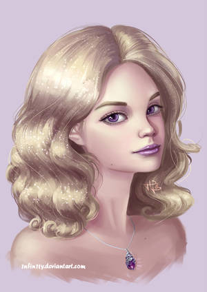 Amethyst Lassart (Commission work) by 1NFIN1TY