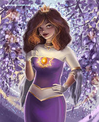 Princess Asali Malva [CONTEST ENTRY] by 1NFIN1TY