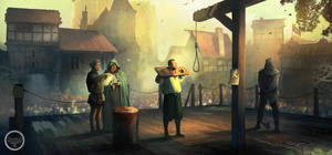 Public Execution. Tightrope Games by SergeyZabelin