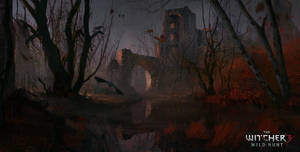 The Witcher 3 Wild Hunt_Fan art. by SergeyZabelin