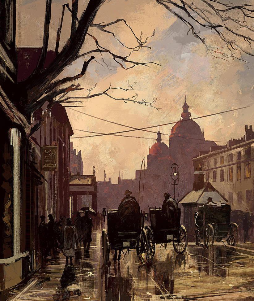 Old England Street. Study by SergeyZabelin