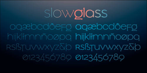 Slowglass by hyvyys
