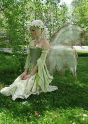 Spring Finch Grass by Reine-Haru
