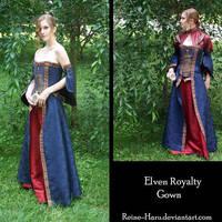 Elven Royalty Gown Complete by Reine-Haru