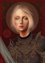 St. Joan of Arc by Reine-Haru