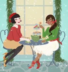 Christmas Tea by Reine-Haru