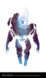 Dragon Age 2 Rock Wraith by joy-ang