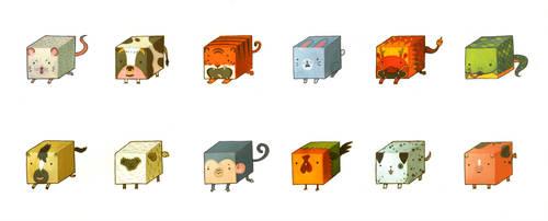 Chinese Cubiacs by joy-ang