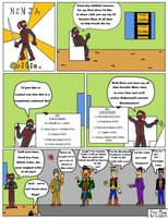 Ninja Critic Comic 1 by clinteast