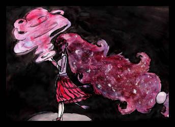 Cosmic Dust- Palkia by DiadessJewel