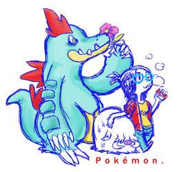 Hay Pokemons by ufotrash