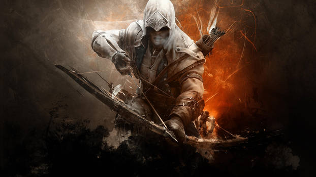Assassin's Creed 3 Connor's HD Wallpaper by TheSyanArt