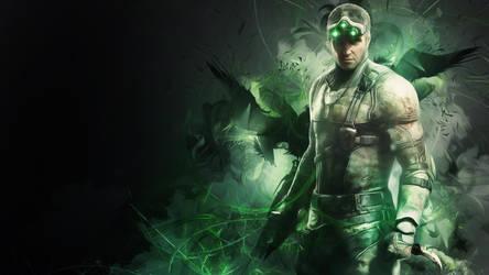 Splinter Cell - Blacklist Sam Fisher by TheSyanArt