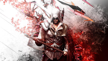 Assassin's Creed 2 - ezio Auditore by TheSyanArt
