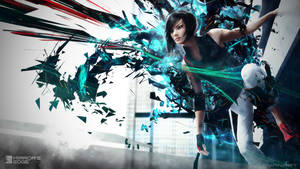 Mirror's Edge 2 Wallpaper by TheSyanArt