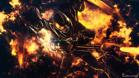 Batman Arkham Origins - FireFly by TheSyanArt