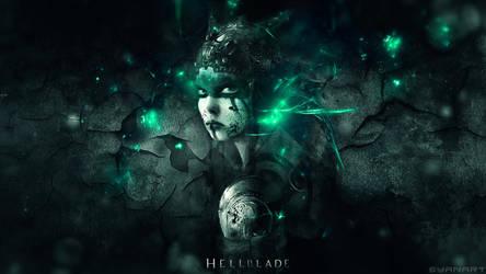 HellBlade - Senua Wallpaper by TheSyanArt