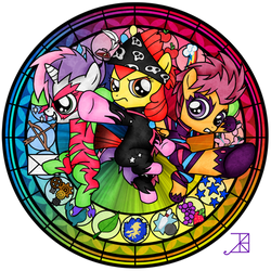 Stained Glass: CMC -talent show- by Akili-Amethyst