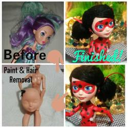 EAH Repaint Progression: Ladybug by Akili-Amethyst