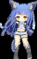 Chibi Tsuki by Minuet-Melody
