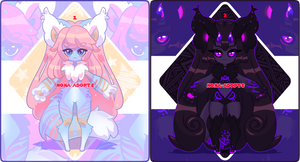 ( 1/2 OPEN) Sparkle-Fluff batch by nona-adopts