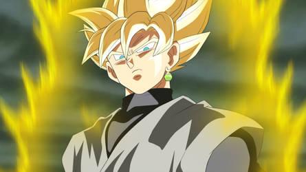 Super Saiyan Goku Black by EverlastingDarkness5