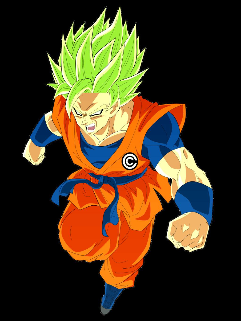 Super Saiyan 2 Rampage Son Goku By Everlastingdarkness5 On