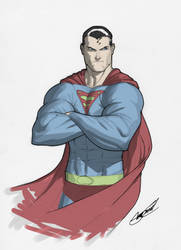 Superman by SergioCuriel