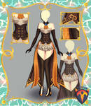 Outfit Adoptable (Auction) #99 OPEN!!! by Tychees