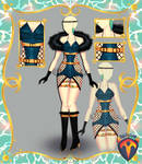 Outfit Adoptable (Auction) #101 OPEN!!! by Tychees